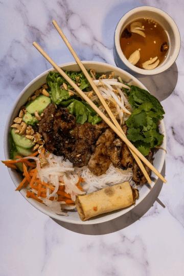 Vietnamese Wild Pork and Rice Noodles