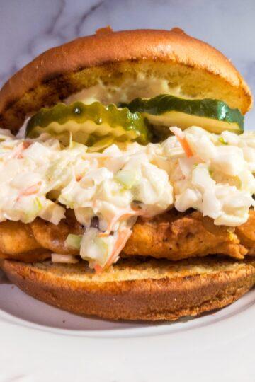 Fried Redfish Sandwich