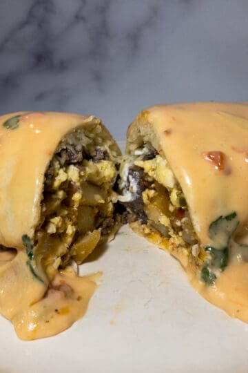 Moose Breakfast Burrito