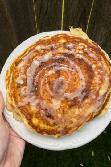 Blueberry Hill Diner Cinnamon Swirl Pancakes Copycat