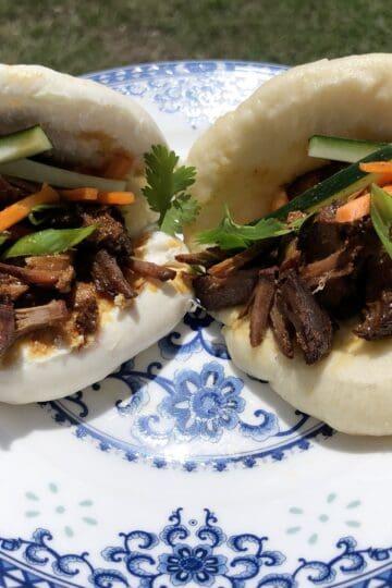 Wild Pork Char Siu Gua Bao