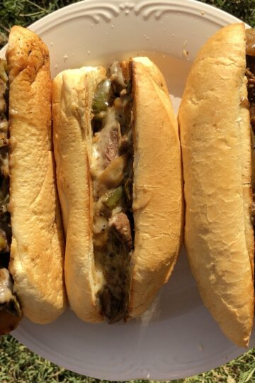 Philly Cheese Dove Sandwich